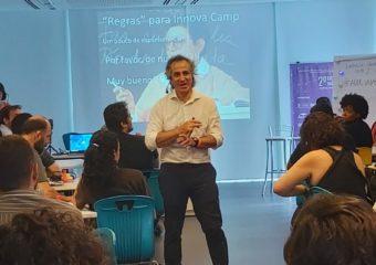 Marcelo Iniarra inicia o ciclo de palestras do Inova Camp 1