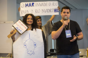 Participantes apresentaram soluções para diferentes desafios