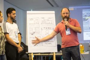 Participantes apresentaram soluções para diferentes desafios 5